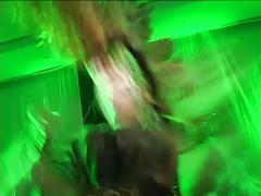 Hot lesbian public fuckshow drives swing party milfs wild