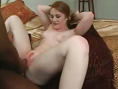 Redhead with black guy
