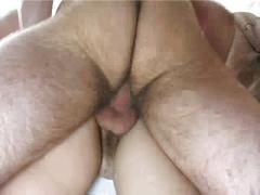 Russian brunette penis massages.