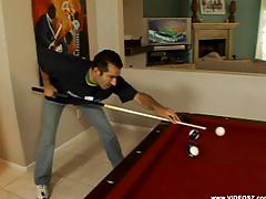 Cougar porked on pool table- phyllisha anne