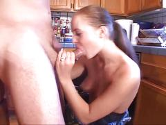 Housewife cheating with her husbands friend