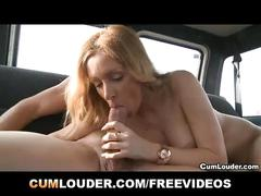 Cute melanie gold fucking in a van