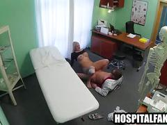 Hot blonde patient getting fucked by her doctornjury 720 4
