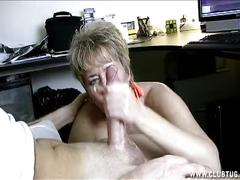 milf, handjob, mature, jerking, public, car, granny, outside, handjobs, jacking, short-hair