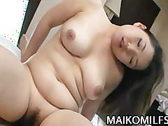 Kaho itou - busty oriental cougar quickie motel sex