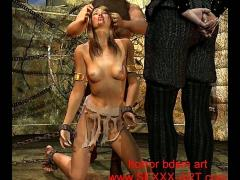 Classic 3d bondage artworks