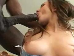 brunette, tight, lingerie, interracial, panties, couch, pussy, rubbing, pussylicking, big