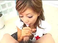 Akane hotaru sexy blowjob