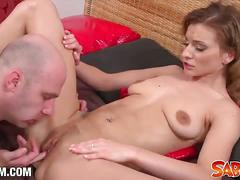 Susane barts gets her tight pussy drilled hard