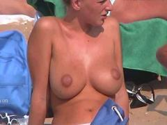 Big beach boobs compilation part 1