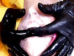 rawvids.com, blowjob, big-tits, blonde, ass-fucking, rough-sex, hardcore, bdsm, breath-control, messy, fishnet, beauty, deepthroat, mask