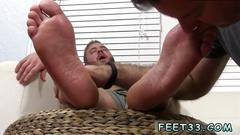 African gay porn sex stories and movie aaron bruiser lets me worship his big sexy feet