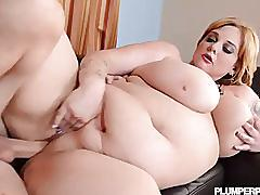 Big tit bbw milf seduces and fucks college student
