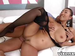 Sexy asian babe sharon lee hardcore pantyhose sex