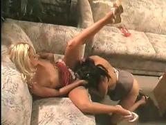 Drippin wet lesbian sorority girls