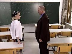 Bea and the teacher