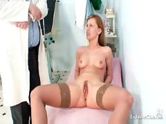pussy, humiliation, vagina, speculum, exam, clinic, kinky, bizzare, gyno, closeups, cervix, docto