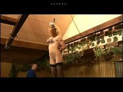 A slave punishment