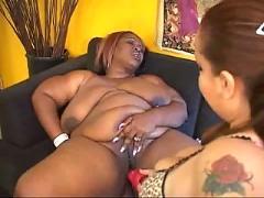 Bbw black lesbian