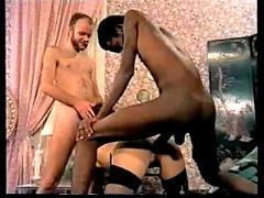 Vintage big black dick