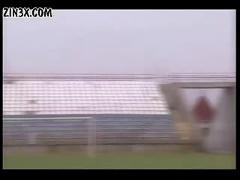 Soccer girls,  scene 3