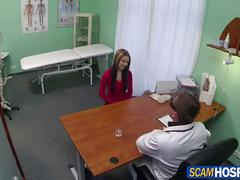 Doctor fucks his super sexy patient in different positions