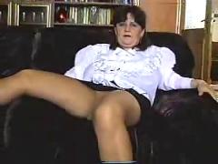 Mom strip show and sex.
