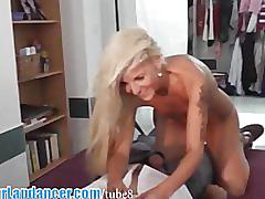 Wild lapdance and bj by czech sexbomb
