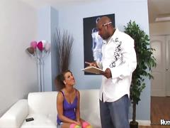 Natasha vega enjoys a big black cock