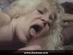 German classic filthy mature woman gangbang
