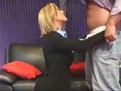 Diryt amateur milf good blowjob with facial