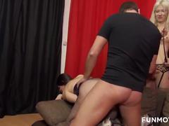 German amateur fetish threesome