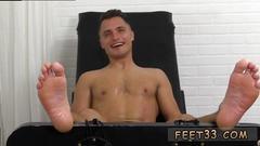 Teenage boy shirtless feet and cute chubby mens gay jock tommy tickle d
