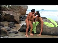 July paiva and monica 3some