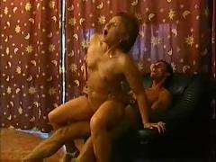 Mature slut having sex with younger man