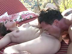 Zoey foxx enjoys the outdoors with marco banderas
