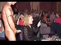 Girls sucking cocks at hen party! - part 7.
