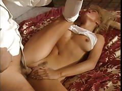 anal, blowjob, tube8.com, blonde, busty, fingering, oral sex, trimmed pussy, lingerie, doggystyle, riding, ass fucking, cumshot