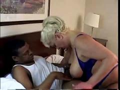 Fornerly racist granny sucks big black cock! read & comment!