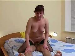 Russian mature room service
