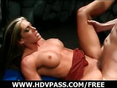 Pornstars alexis give a hot sex performance.