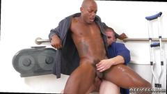 blowjob, twink, gay, black on white