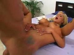 Hardcore,  blonde,  busty,  pussylicking,