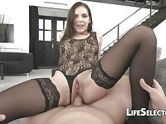 anal, babe, big cock, pornstar, blowjob, hardcore, brunette, european, pov, interactive, interactive porn, life selector, henessy