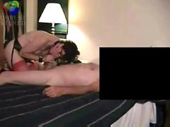 Mature couple bondage and oral