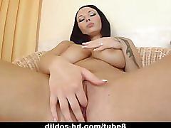 hardcore, strip, dildos hd.com, big tits, solo, teasing, raven, masturbating, dildo, heels, orgasm