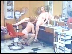 Die supergeilen im friseursalon
