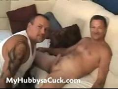 Kinky amateur mature wife forces hubby to cuckold boyfriend