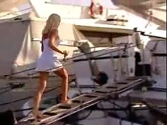 Silvia saint: fuck me on the boat