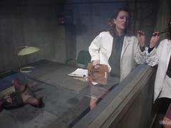 Pervert lesbian doctor meets nympho patient